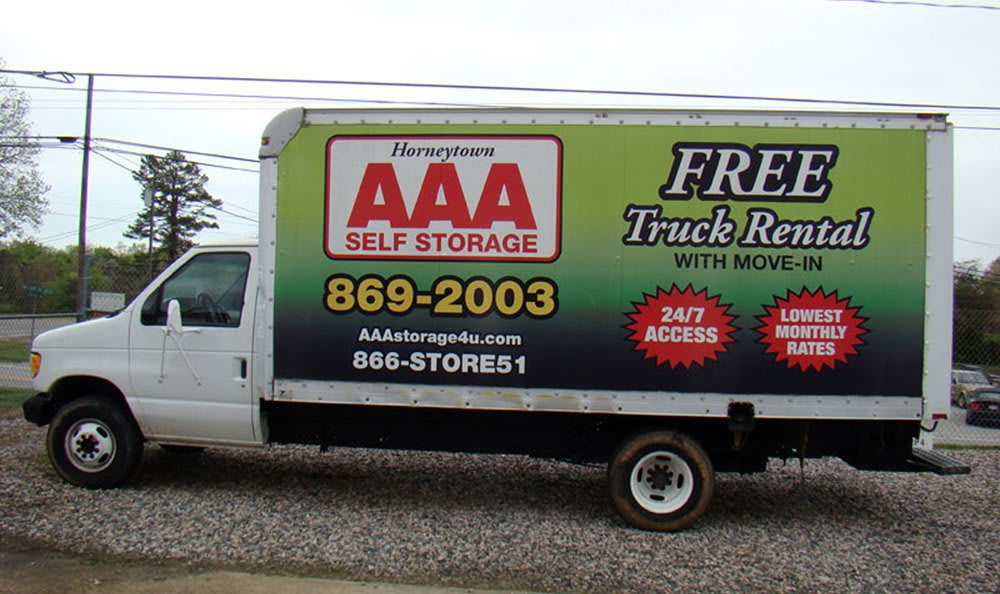 Self storage in High Point, NC with truck rental