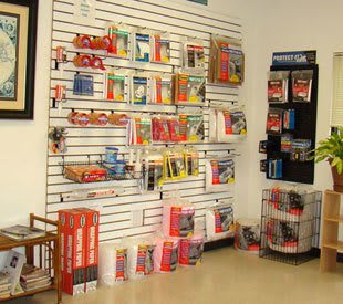 Features at our self storage location in Jamestown