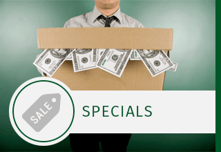 Web special offered for self storage facility in Columbia