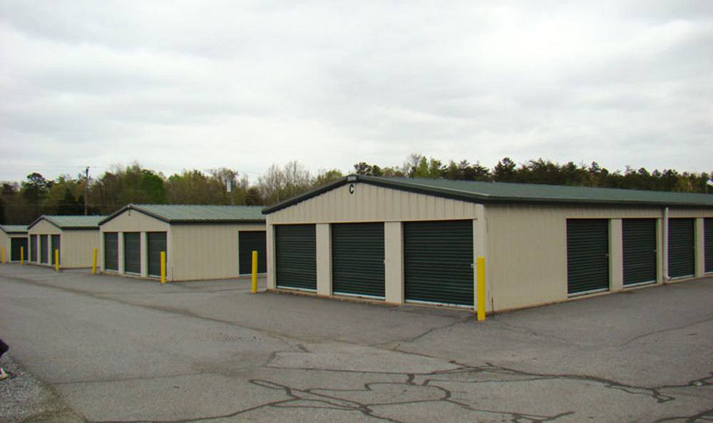 Clean and secure units for personal storage in High Point
