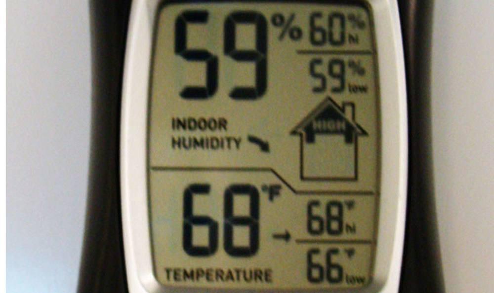 Thermostat for storage in Winston Salem, NC.