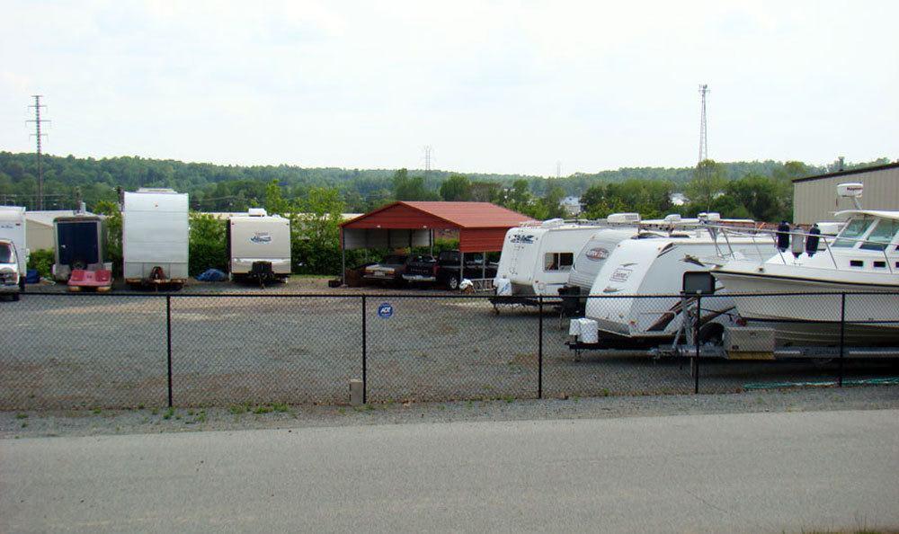 Outdoor storage in Winston Salem, NC.