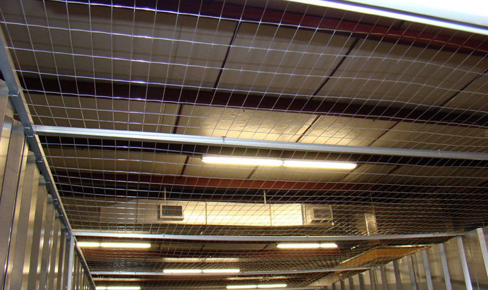 Ceiling in Greensboro, NC storage units.