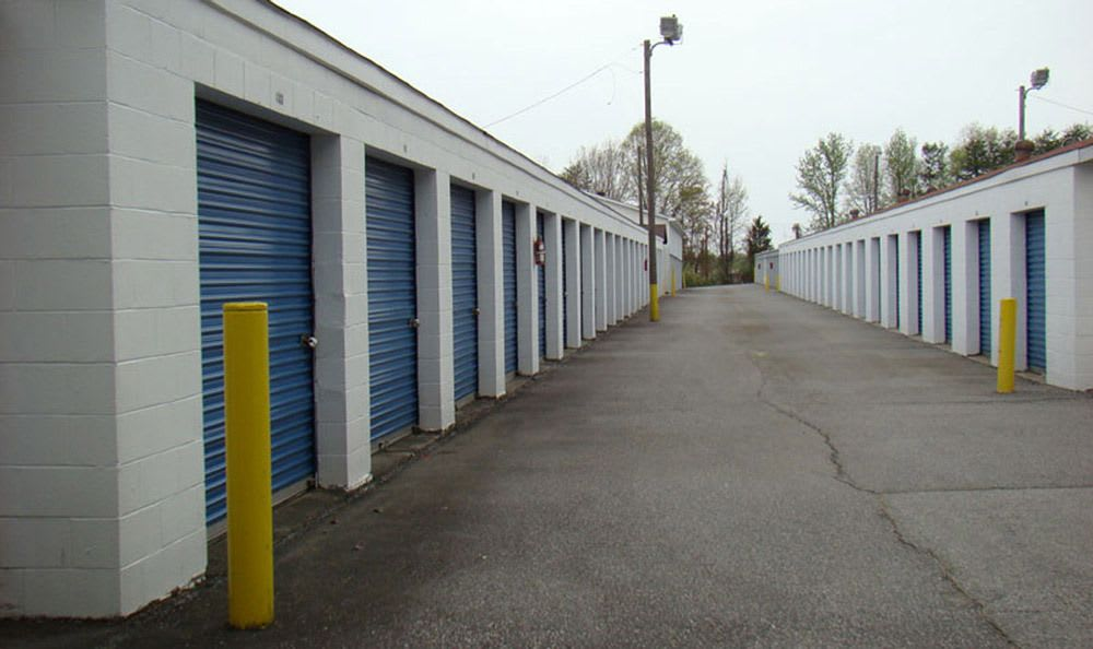 High Point self storage facility
