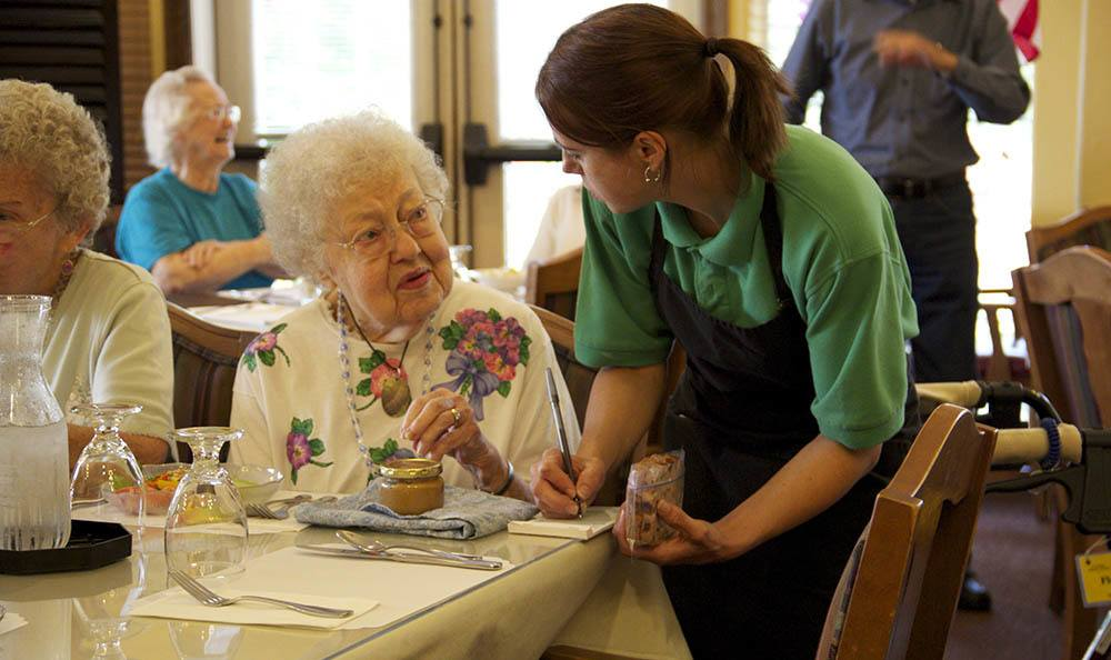 Enjoy a fancy feast at our senior living facility in Salem, OR