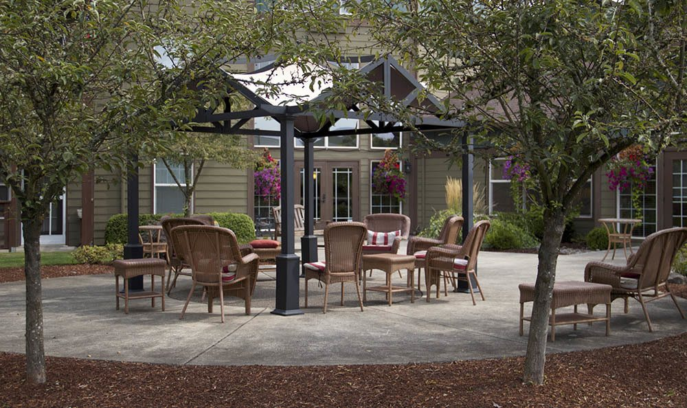 Gather with all of your friends at senior living in Salem, OR