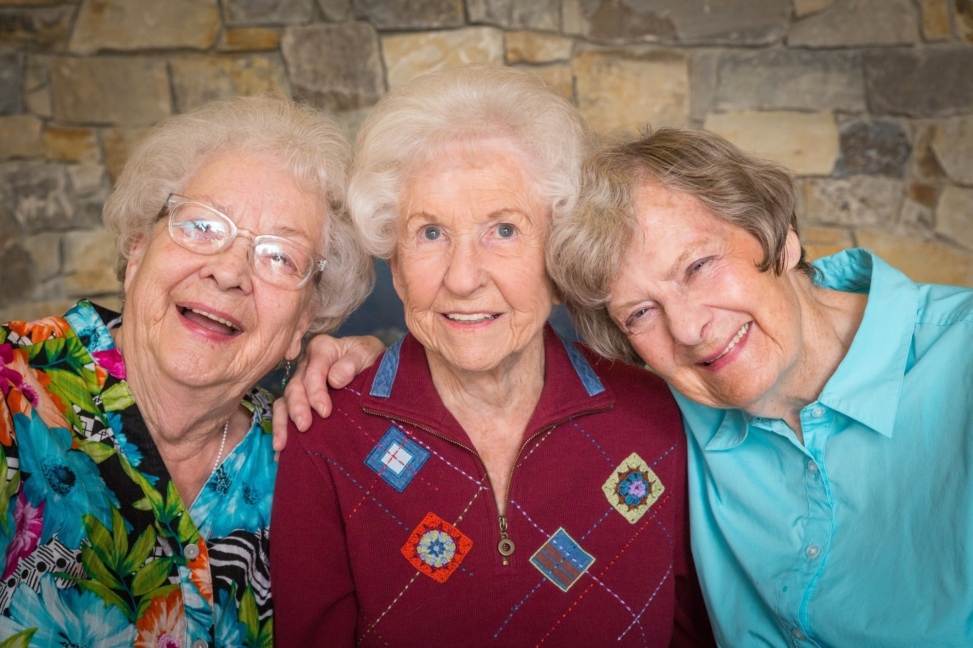Residents enjoy a moment together in Whitefish