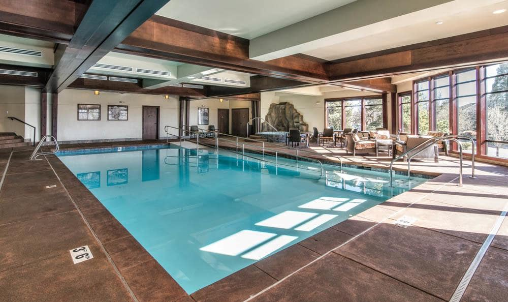 Take a dip in our wonderful swimming pool in our senior living facility in Lake Oswego, OR