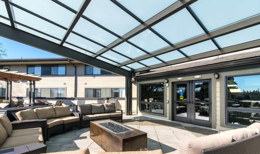 Hangout with friends in our spacious and comfortable patio