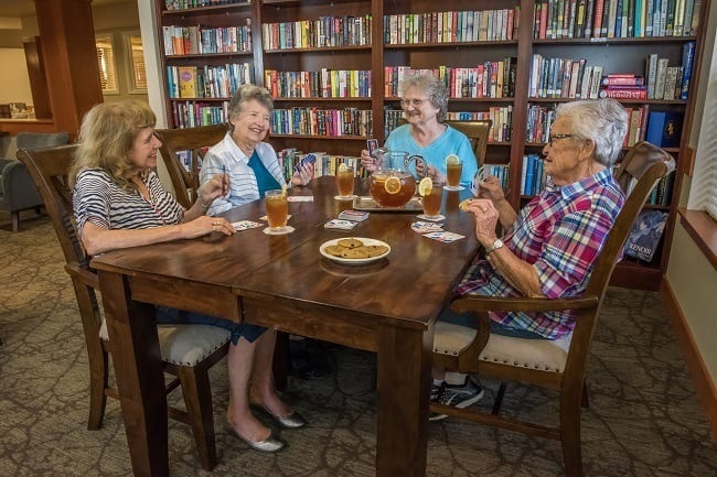 Enjoy time with friends at our senior living facility in Sherwood, OR
