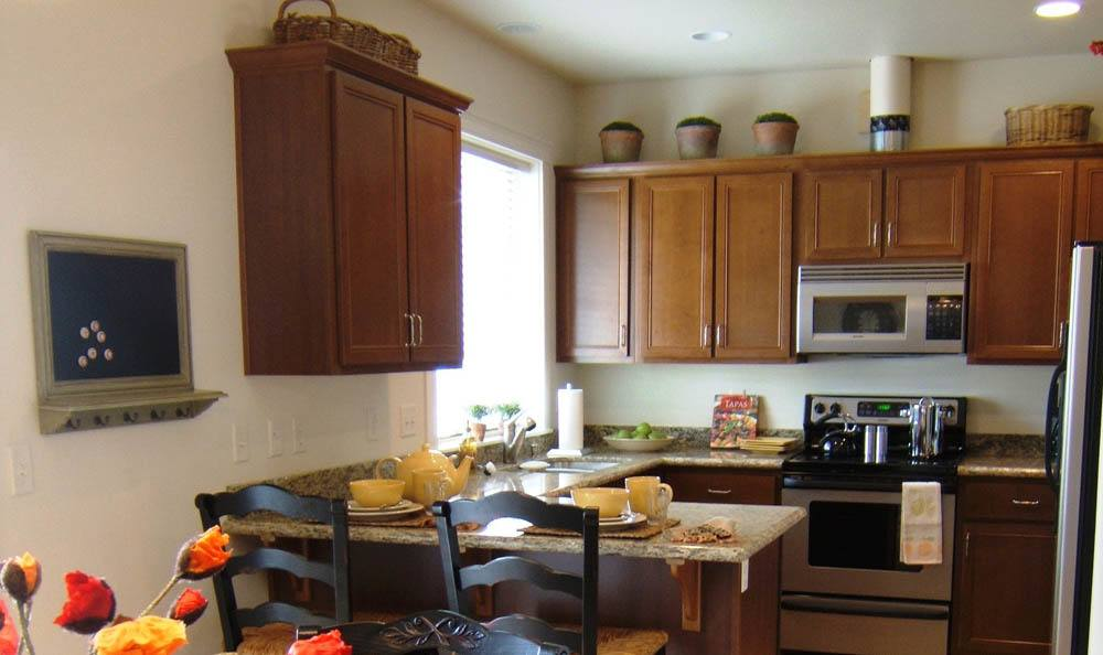 Our senior living facility in Medford, OR has fully equipped kitchens