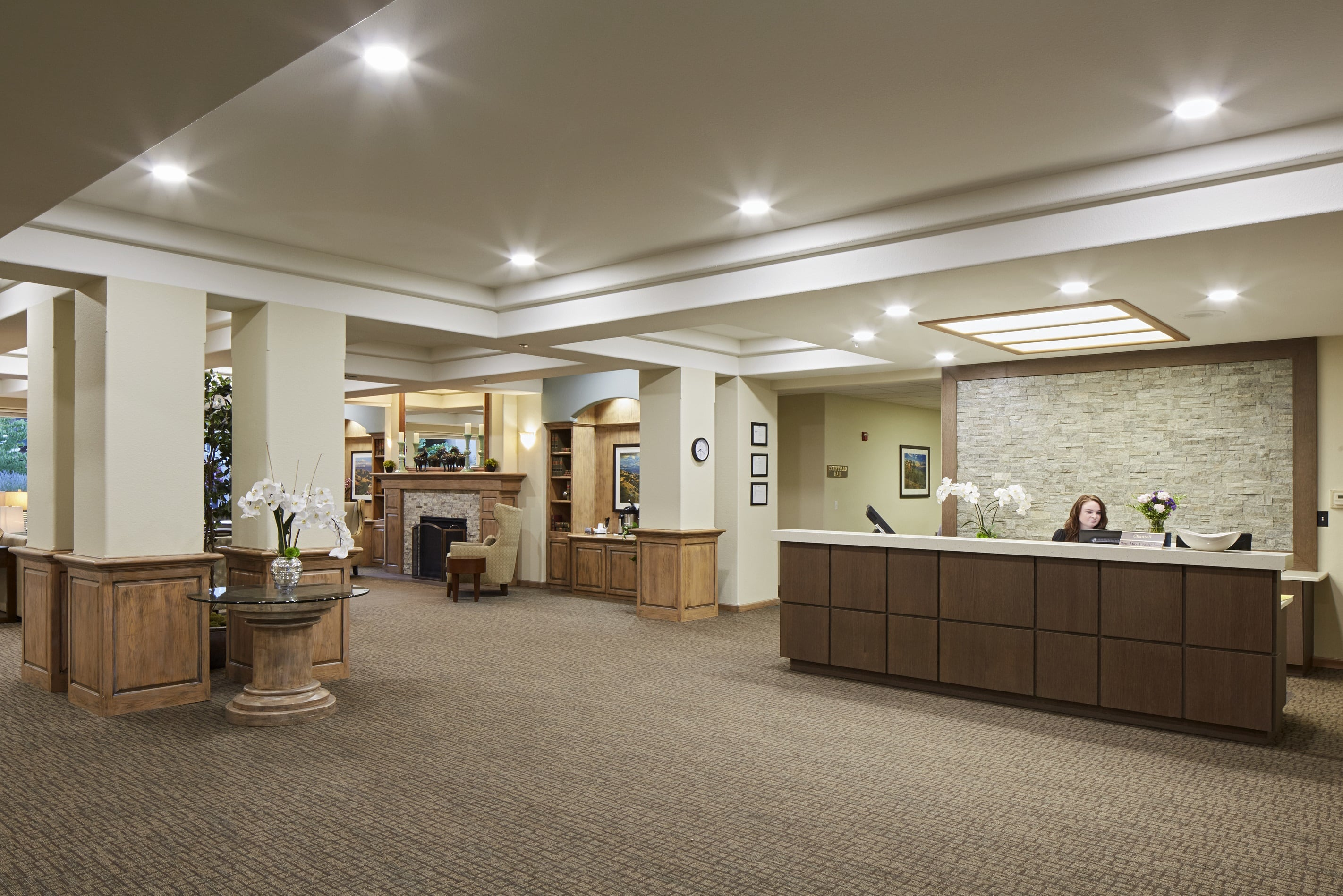 Remodeled Lobby in Medford