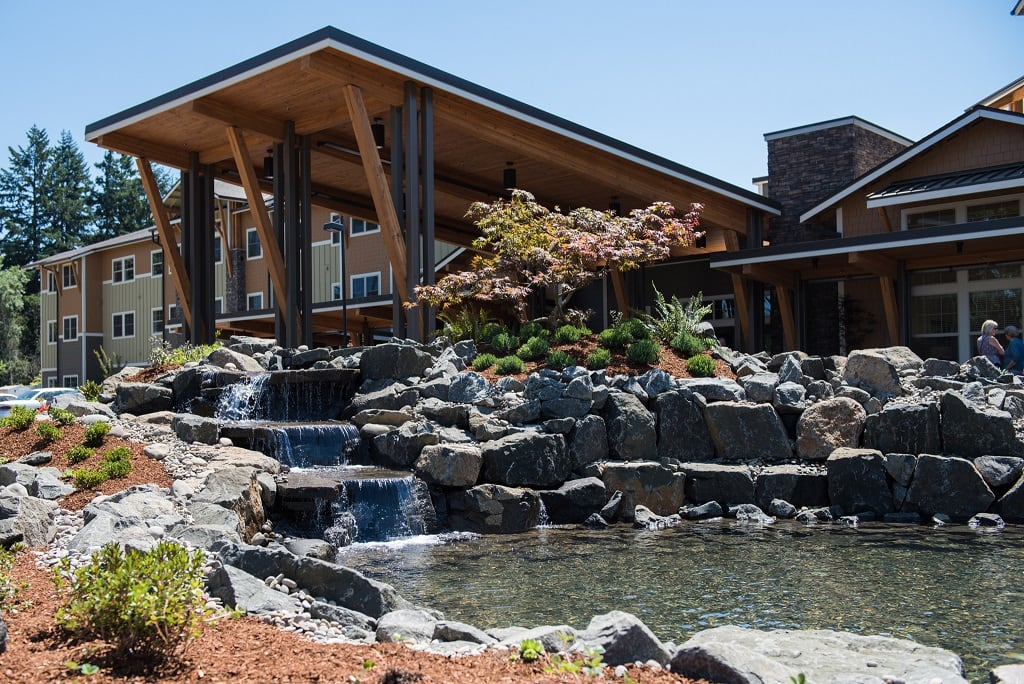 Exterior image of The Springs at Greer Gardens in Eugene, OR