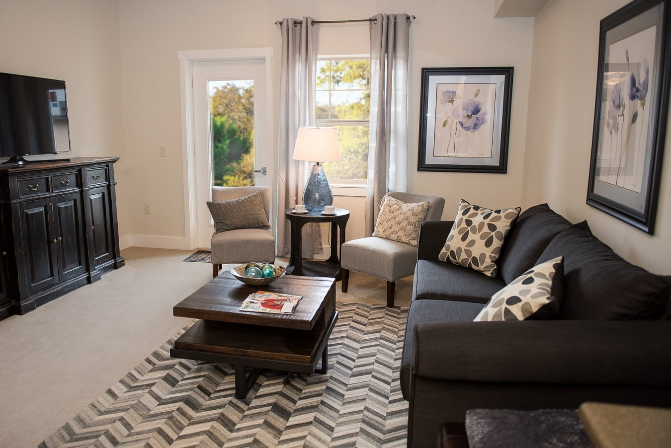 Interior image of cottage at The Springs at Greer Gardens in Eugene, OR