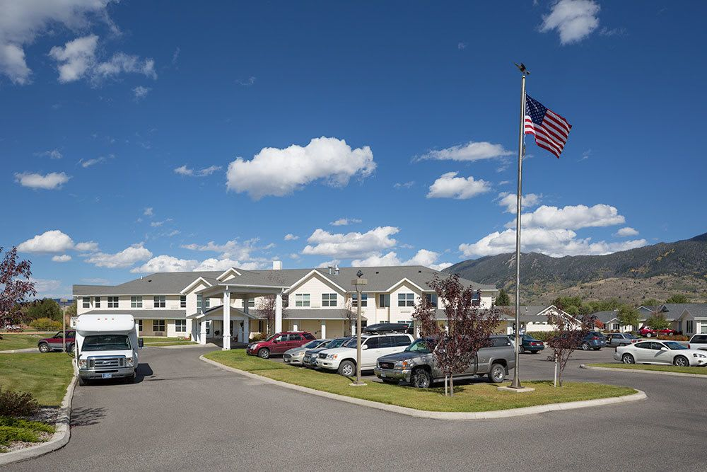 A view of our senior living community in butte