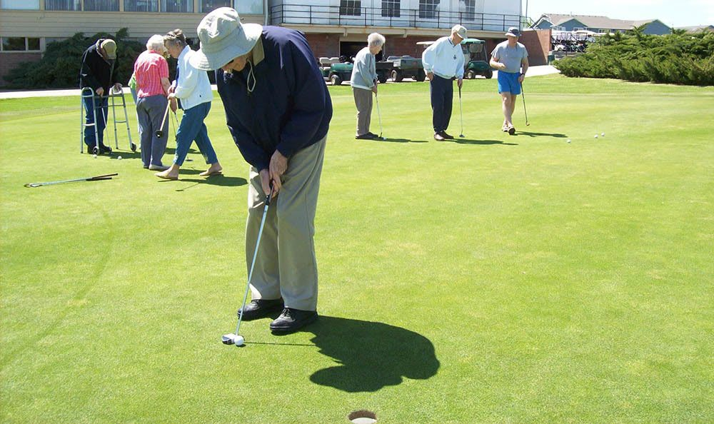 A Round Of Golf At Our Senior Living Facility In Billing Mt