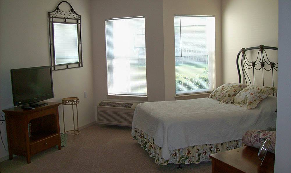 Bedrom At Our Senior Living Facility In Billing Mt