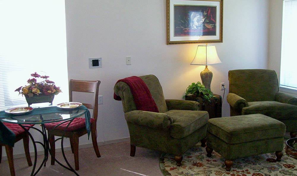Living Area At Our Senior Living Facility In Billing Mt