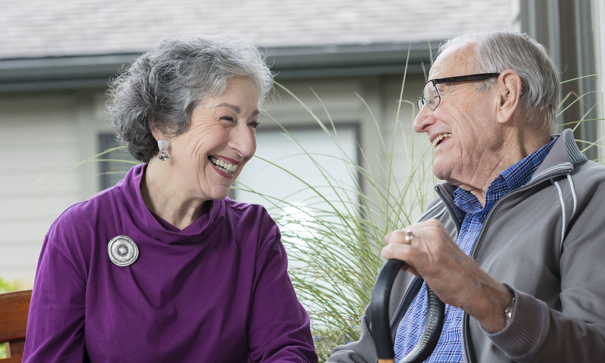 Happiness can be found at senior living in McMinnville, OR