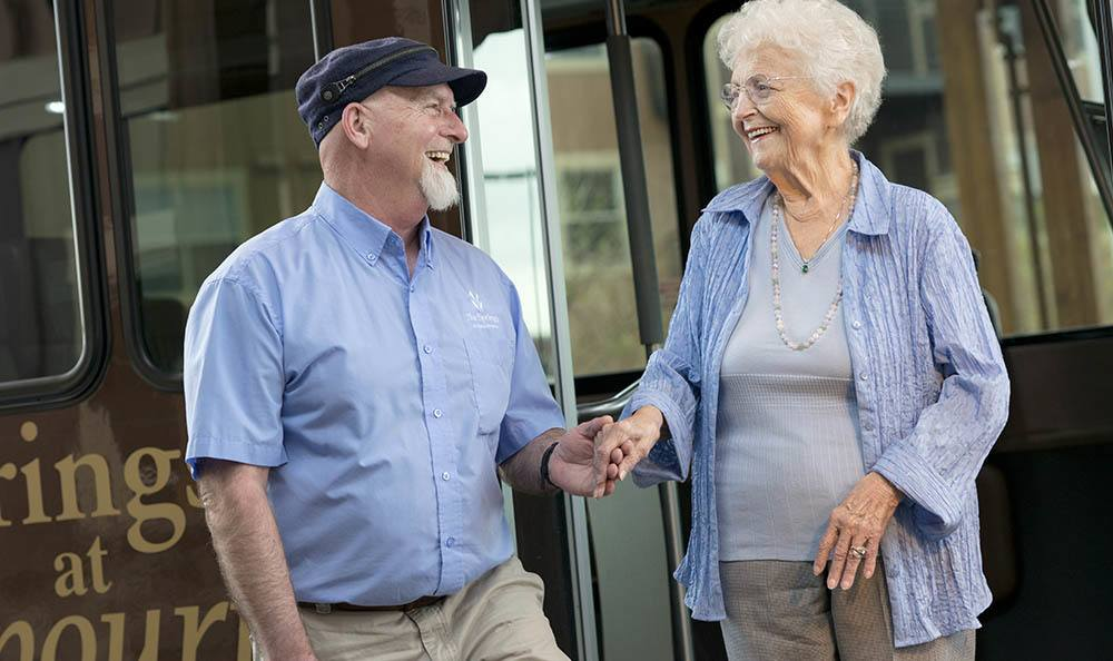 Transportation to your favorite places available at our senior living facility in Hillsboro, OR