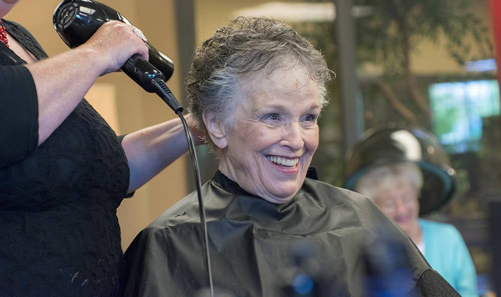 When you need a new style, our senior living facility in Hillsboro has got you covered