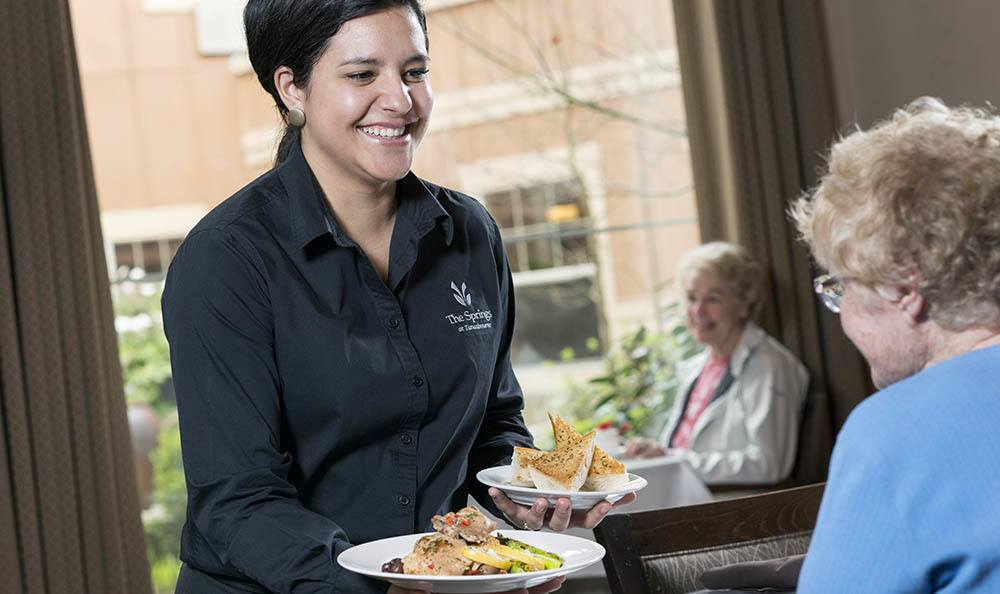 Enjoy a fancy feast at our senior living facility in Hillsboro, OR