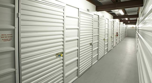Climate controlled units at Metro Self Storage in Marietta, GA