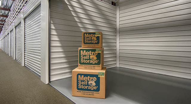 Climate controlled units at Metro Self Storage in Montgomery, AL