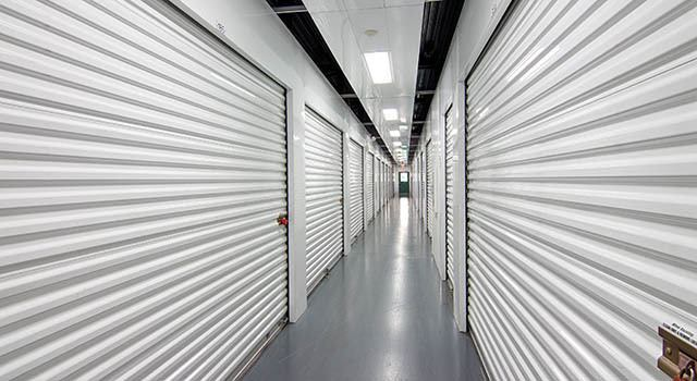 Climate controlled units at Metro Self Storage in Tampa, FL