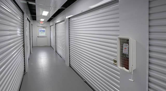 Climate controlled units at Metro Self Storage in Lakeland, FL