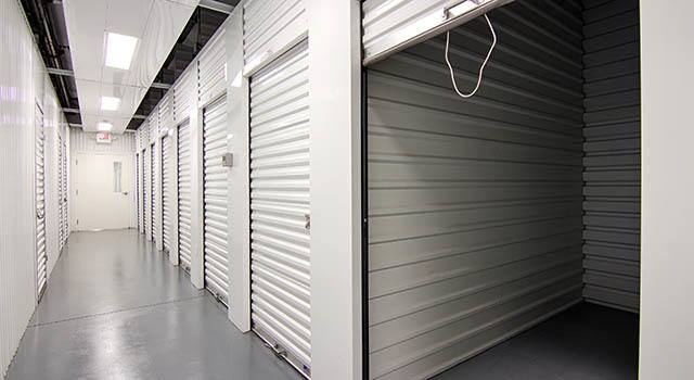 Climate controlled units at Metro Self Storage in Lutz, FL