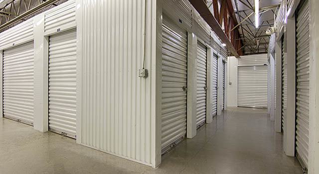 Climate controlled units at Metro Self Storage in Sarasota, FL