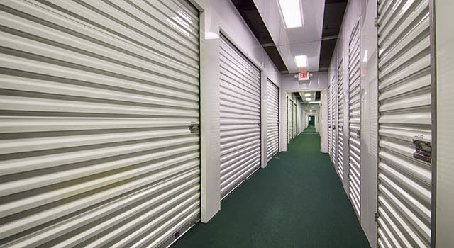 Climate controlled units at Metro Self Storage in Seffner, FL