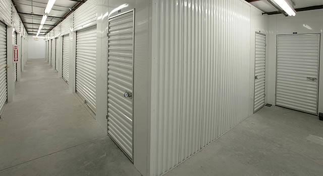 Climate controlled units at Metro Self Storage in Fort Myers, FL
