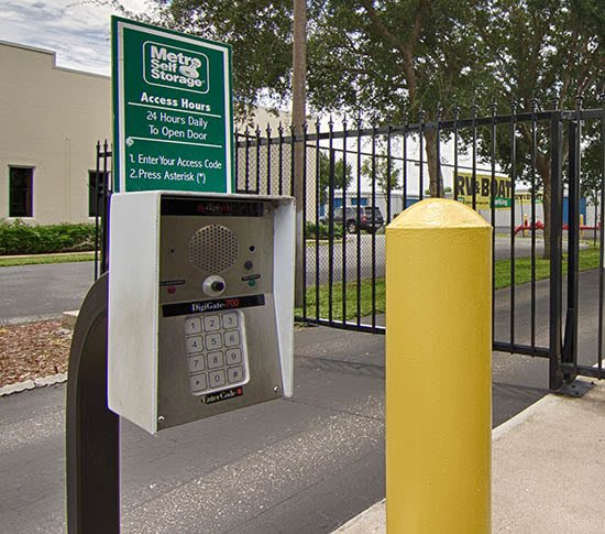 Facility Features offered at Metro Self Storage in Fort Myers