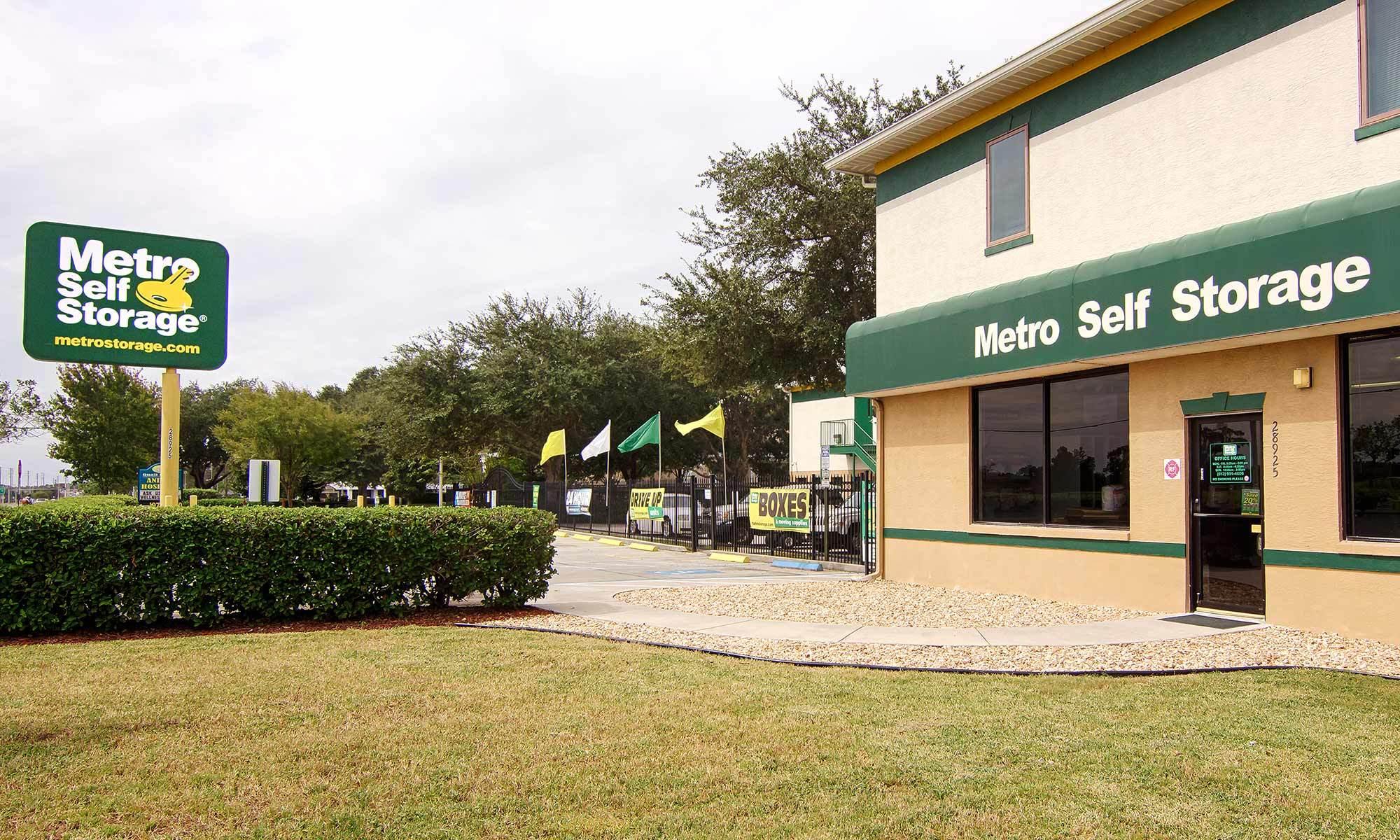 Metro Self Storage in Wesley Chapel, FL