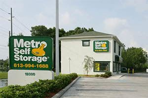 Metro Self Storage Tampa Bruce B Downs Nearby