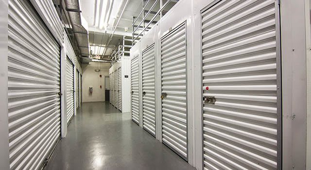 Climate controlled units at Metro Self Storage