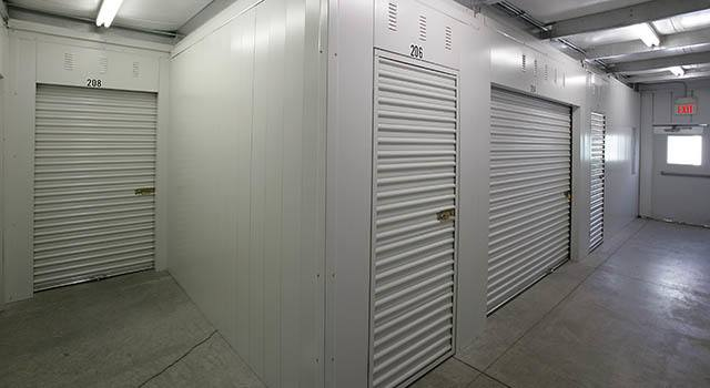 Climate controlled units at Metro Self Storage in Beach Park, IL