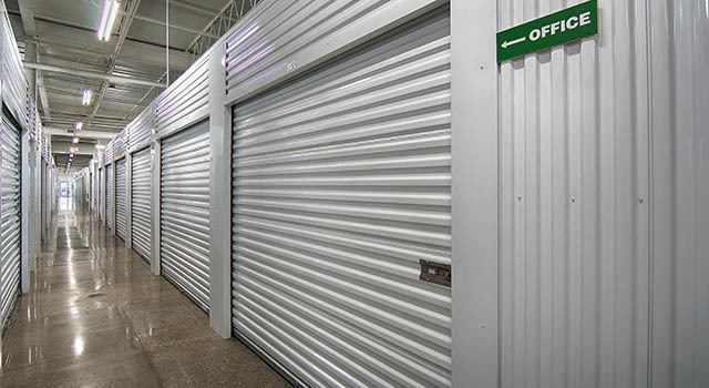 Climate controlled units at Metro Self Storage in Deerfield, IL