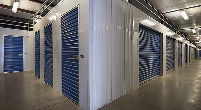 Climate controlled units at Metro Self Storage in Chicago, IL