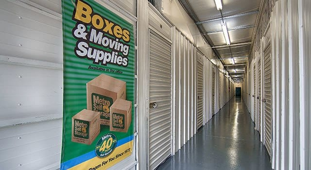 Climate controlled units at Metro Self Storage in Grayslake, IL