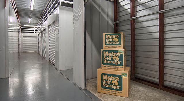 Climate controlled units at Metro Self Storage in Palatine, IL