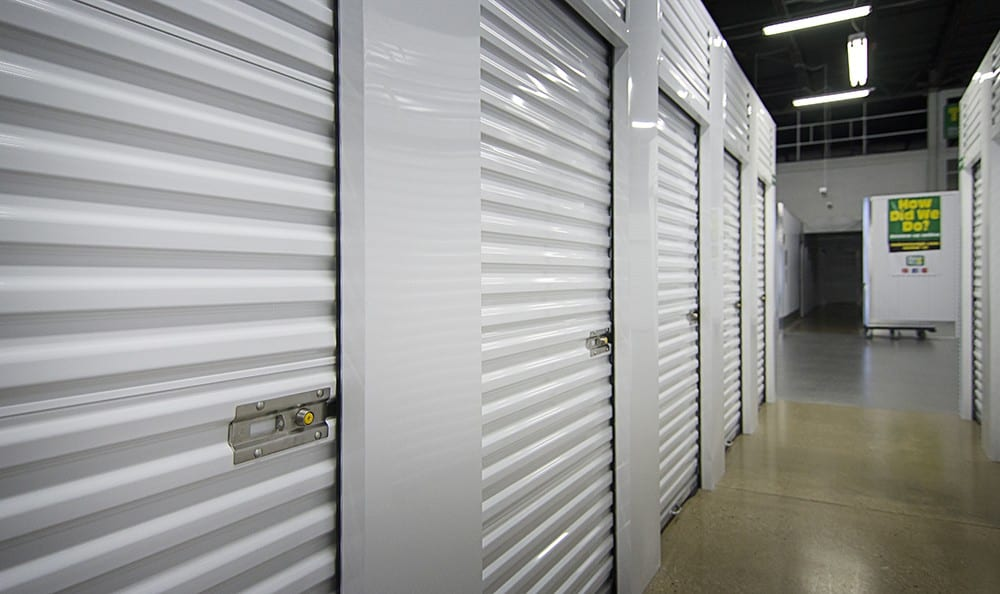 Metro Self Storage Bd Gallery Interior Storage With White Doors