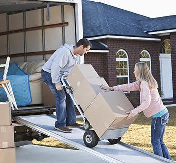 Metro Self Storage offers moving truck rentals in Bloomington