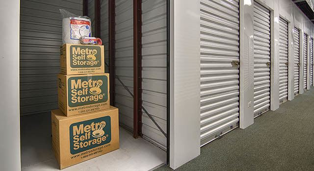Climate controlled units at Metro Self Storage in Batavia, IL