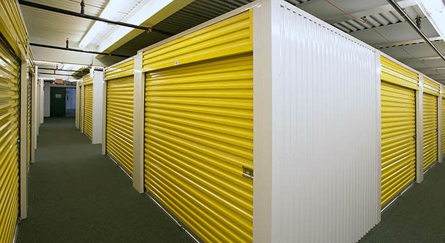Climate controlled units at Metro Self Storage in Franklin Park, IL