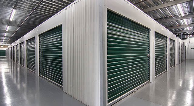 Climate controlled units at Metro Self Storage in West Chicago, IL