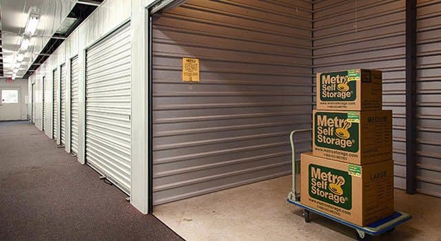 Climate controlled units at Metro Self Storage in Kingwood, TX