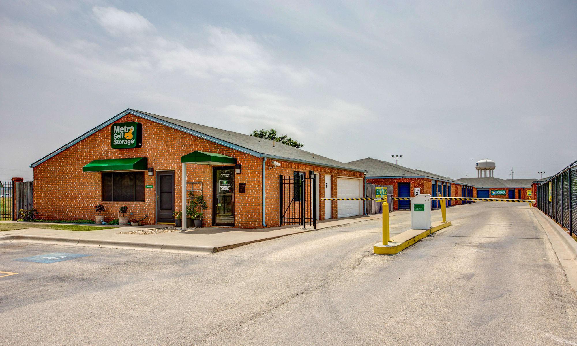 Metro Self Storage in Midland, TX
